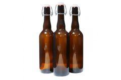 Пивная бутылка с бугельной пробкой 0,75  л