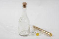 Термоусадочный колпачок для бутылок прозрачный