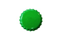 Кронен пробки Зеленые