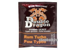 Спиртовые турбо дрожжи DoubleDragon Rum