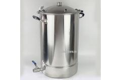 Перегонный куб с купольной крышкой Distillex с выходом под кламп 3